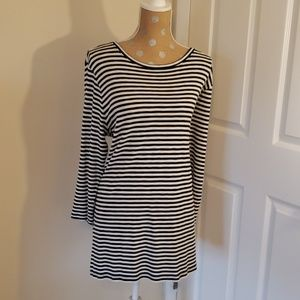 Old Navy Black&White striped tunic